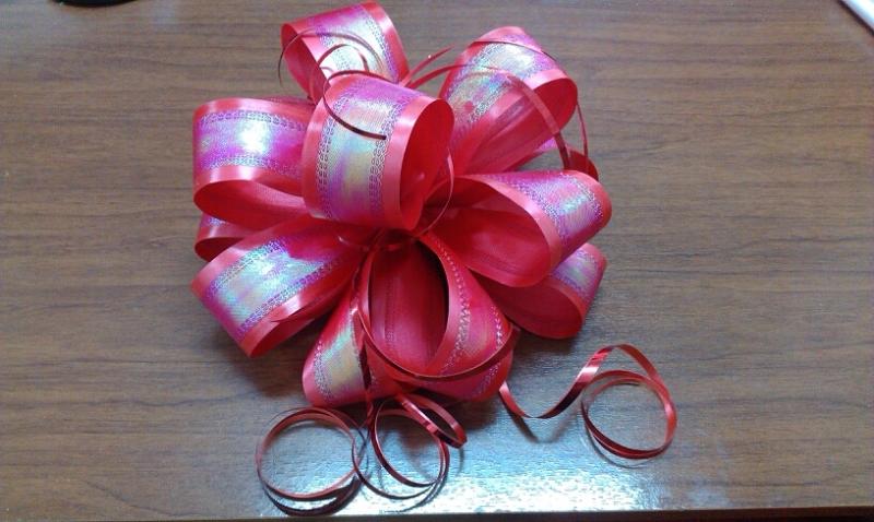 Бант украшение на подарок 257