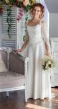 Свадебное платье в стиле 19 века